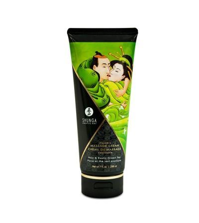 Shunga Crema de Masaje Aroma Te Verde