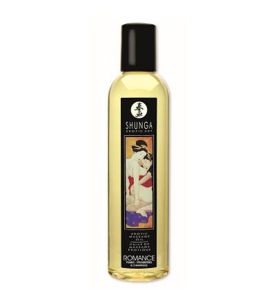 Shunga Aceite de Masaje Erotico Vino de Fresa