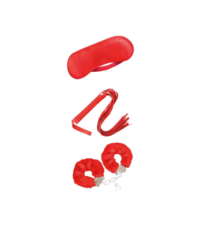 Set de Bondage para Principiantes 3 Piezas Rojo