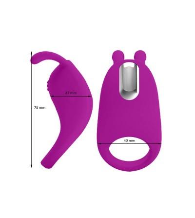 Pinkyhop Anillo Vibrador USB Impermeable Silicona