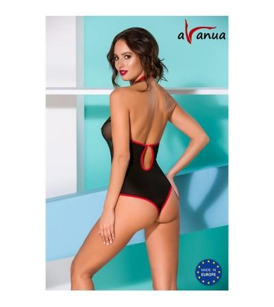 Cyra Body Negro y Rojo