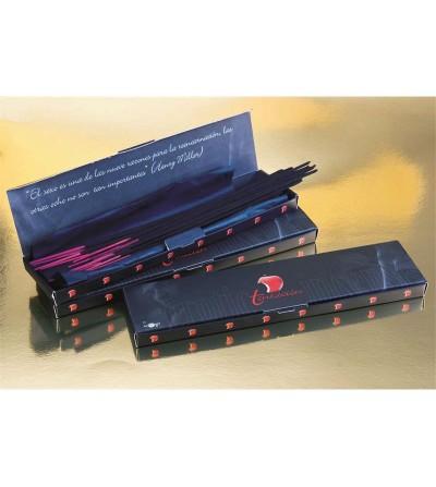 Tentacion Caja Incicienso Erotico Feromonas 20 Sticks Caramelo
