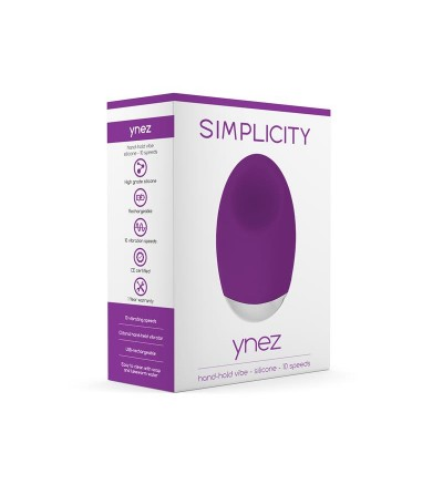 Shots Simplicity Vibrador de Mano YNEZ Purpura