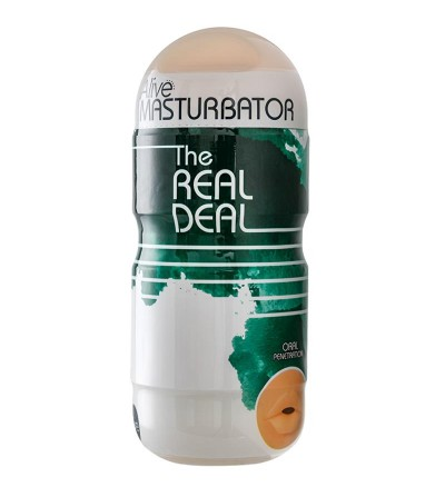 Masturbador The Real Deal Boca 16 cm