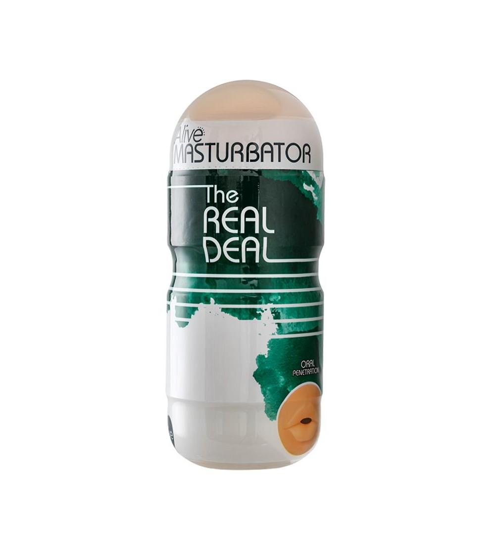 Masturbador The Real Deal Boca 16 cm