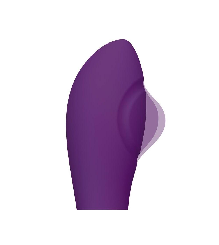 No Eleven Vibrador con Conejito Punto G y Fucion de Pulsacion USB Margnetico Silicona