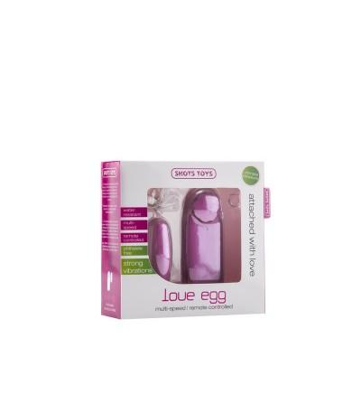 Shots Toys Huevo Vibrador Love Rosa
