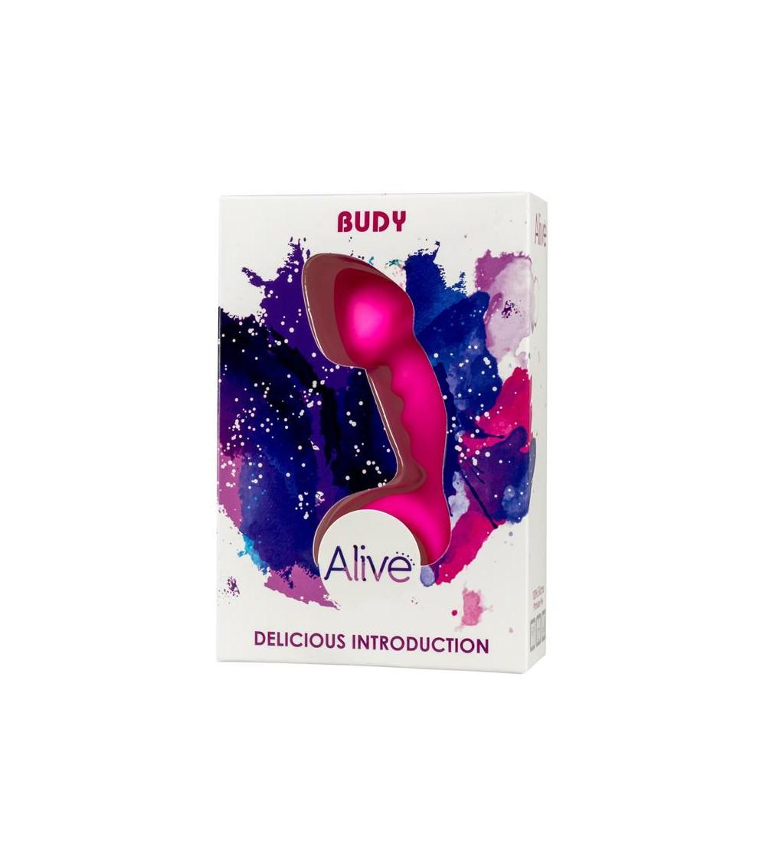 Plug Anal Budy Rosa Silicona 13 cm