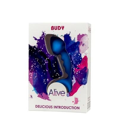 Plug Anal Budy Azul Silicona 13 cm