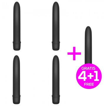 Pack 41 Raand Vibrador Multi Velocidad 18 cm Negro