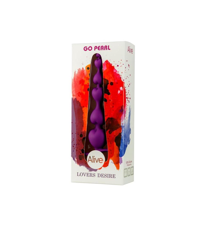 Estimulador Go Pearl Silicona 18 cm