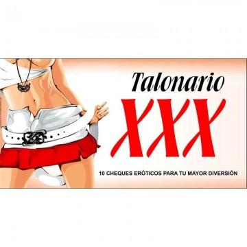 Talonario XXX 12 Cupones