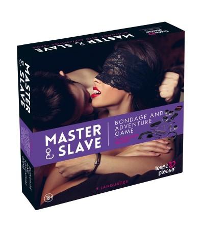 Master Slave Juego Bondage Purpura