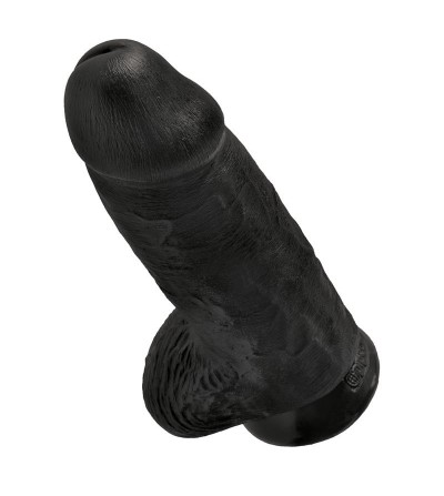 King Cock Pene Rechoncho 9 Color Negro
