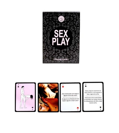 Secret Play Juego Sex Play Playing Cards