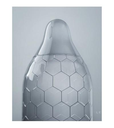 Preservativos Hexagonales Hex XL 12 unidades