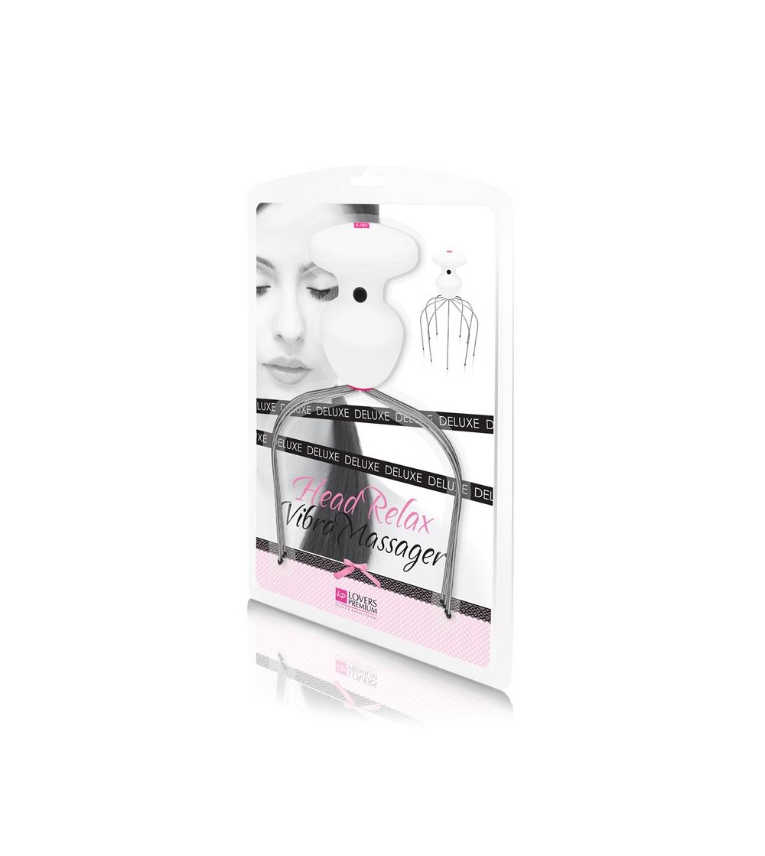Loverspremium Masajeador de Cabeza con Vibracion Relajante Deluxe