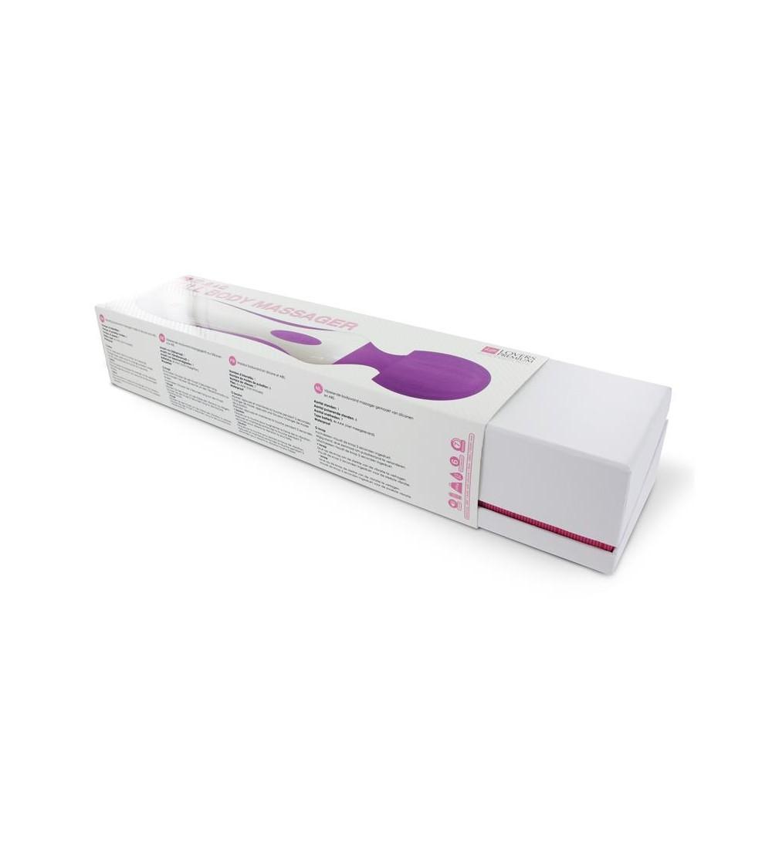 Loverspremium Masajeador de Cuerpo Entero XL Color Purpura