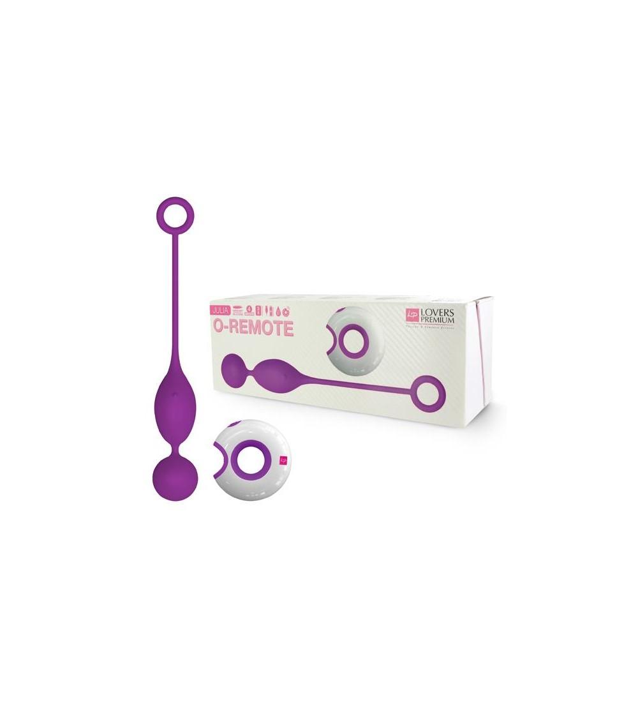 Loverspremium Huevo Vibrador Control Remoto Julia Color Purpura